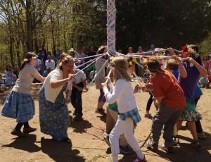 Maypole Ribbon Dance